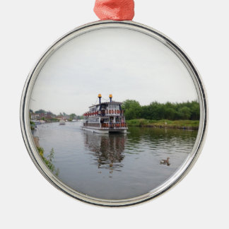 Paddle Steamer Southern Comfort Metal Ornament