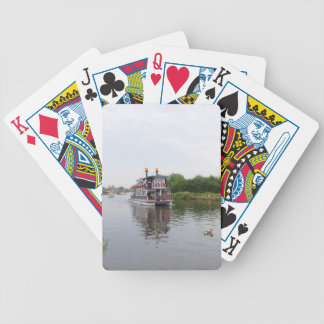 Paddle Steamer Southern Comfort Poker Deck