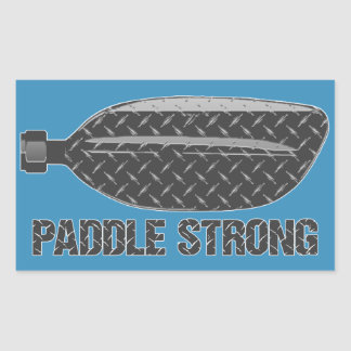 Paddle Strong Sticker