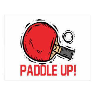 Paddle Up Postcard
