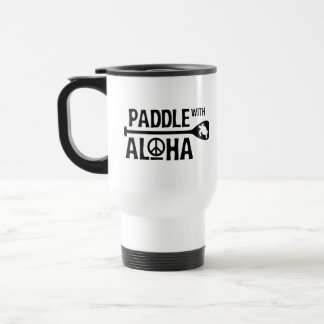 Paddle with Aloha 15 oz Travel Dawn Patrol Mug