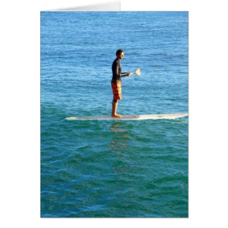 Paddleboarding Card