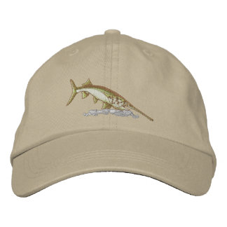 Paddlefish Embroidered Hat