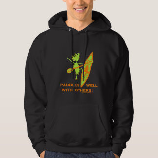 Paddles Well With Other Hoodie
