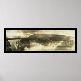 Paddlewheeler Yukon Photo 1899 Poster