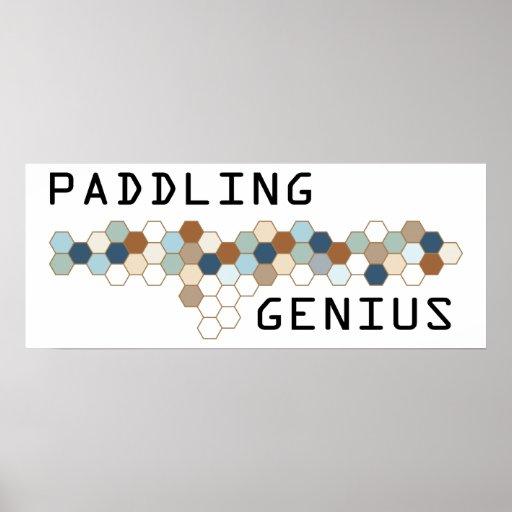 Paddling Genius Posters