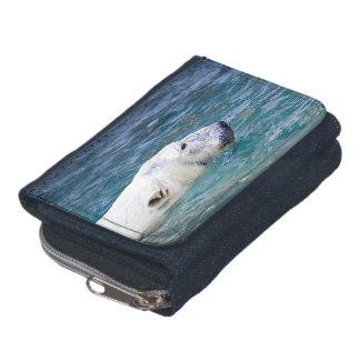 Paddling Polar Bear Wallet