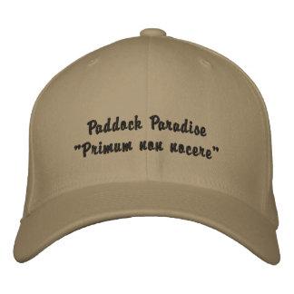 """Paddock Paradise """"Primum non nocere"""" baseball cap"""
