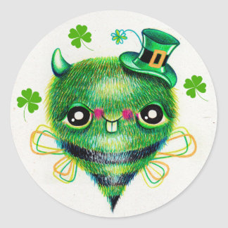 Paddy Bug St. Patrick's Day Stickers
