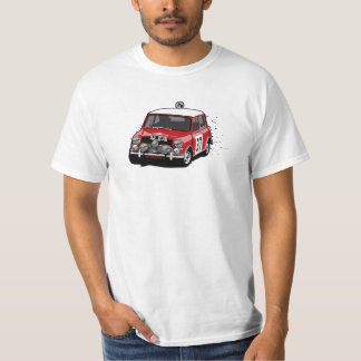 Paddy Hopkirk Mini Cooper Rally Car T-Shirt