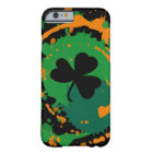 Paddy Ink Lucky Dark Clover Barely There iPhone 6 Case