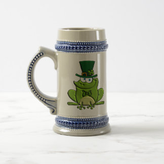Paddy O'Frog Beer Stein