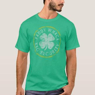 Paddy Whack Keg Security t shirt
