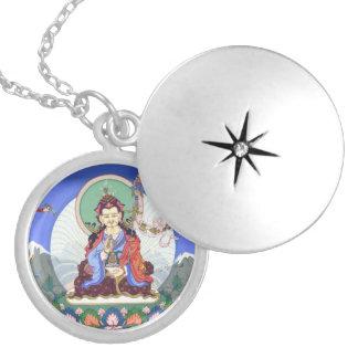 Padmasambhava (Tib.: Guru Rinpoche) round locket