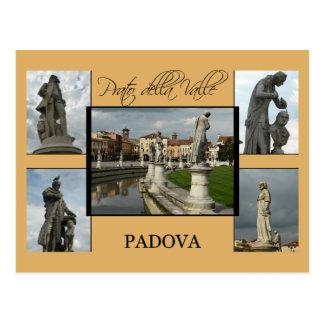 Padova Tourist Card - Prato della Valle Postcard