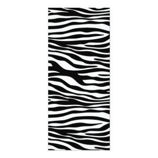 padrão em zebra card