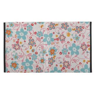 padrão floral bonito iPad cases
