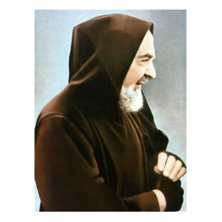 Padre Pio Photo Sculpture