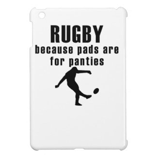 Pads Are For Panties Rugby iPad Mini Case