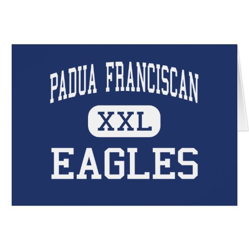 Padua Franciscan - Eagles - High - Cleveland Ohio Cards
