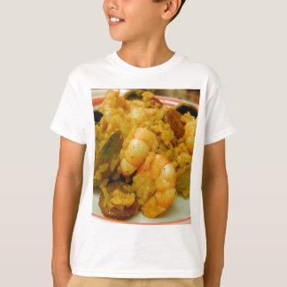 Paella Shrimp Clams Sausages Rice T-Shirt