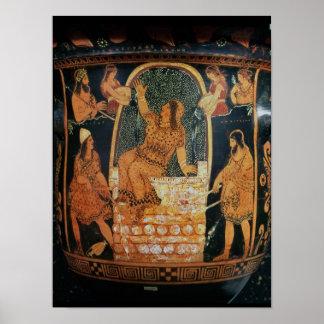 Paestan Redfigured 'bell-krater' Poster