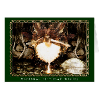 Pagan Birthday Card