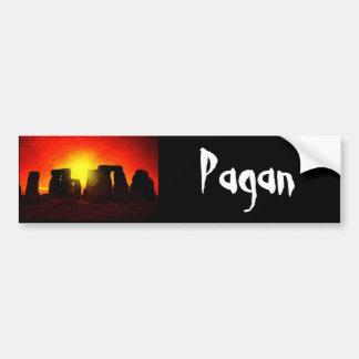 Pagan Bumper Sticker