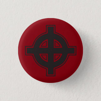 Pagan Cross 1 Inch Round Button