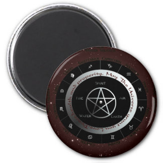 Pagan Elements wheel 2 Inch Round Magnet