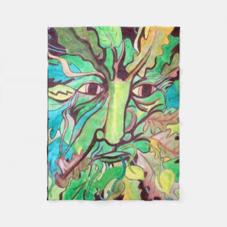 Pagan Greenman Fleece Blanket