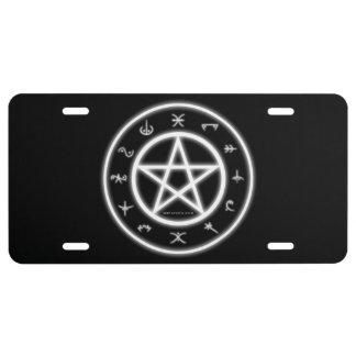 Pagan License Plate