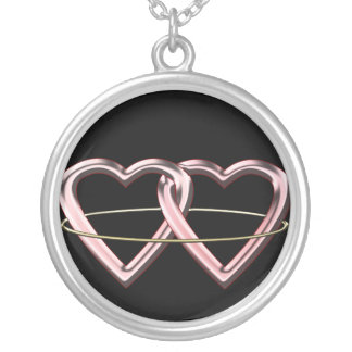Pagan Marriage Symbol Silver Plated Necklace
