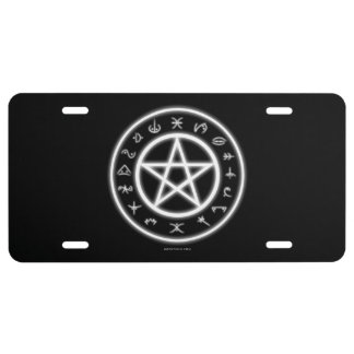 Pagan Plate License Plate
