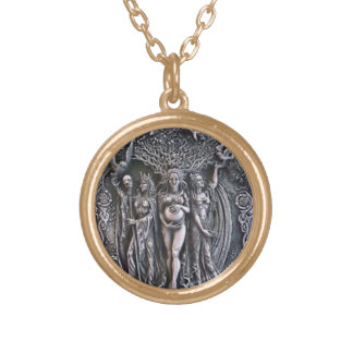 PAGAN TRIPLE GODDESS PENDANT
