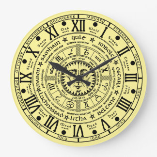 Pagan Wheel of the Year Clock