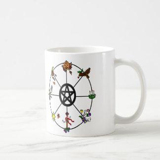 Pagan Wheel of the Year Mug