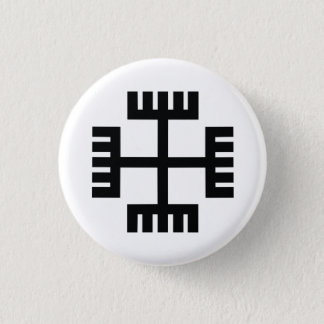 Paganism Religious Symbol 1 Inch Round Button