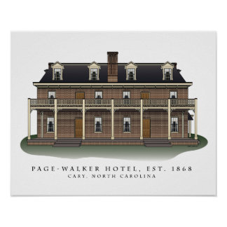 Page-Walker Hotel Architectural Print