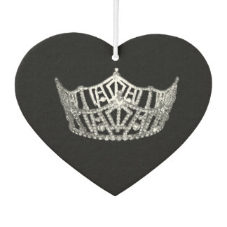 Pageant Crown Air Freshner Car Air Freshener