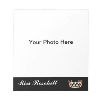 Pageant Crown Autograph Pad
