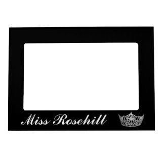Pageant Crown Magnet Picture Frame