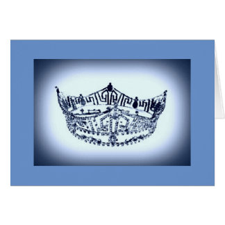 Pageant Crown Note Card