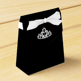 Pageant Crown Party Favor Box