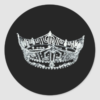 Pageant Crown Stickers