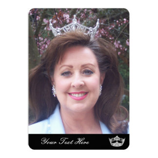 Pageant Photo Card