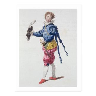 Pageboy at Court during the Reign of Edward VI (en Postcard