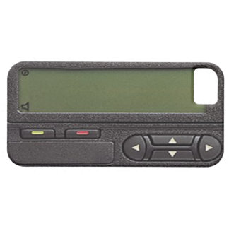 Pager iPhone 5 Case Mate