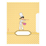Pages for Recipes - Illustrated Letterhead Design