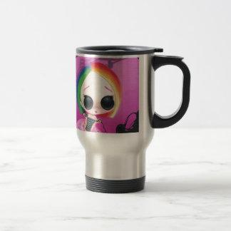 Paging Mr. Rainbow Travel Mug